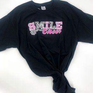 Smile, Yell, Cheer T-shirt